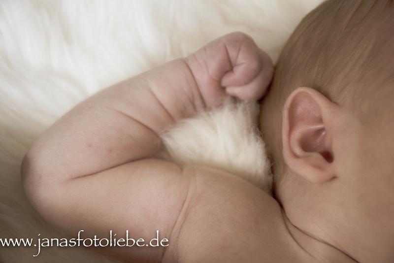 Neugeborenen-Shooting